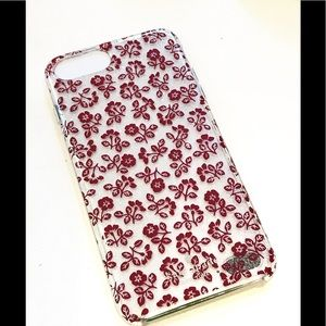 Kate Spade Red Floral Cell Case iPhone 6/7/8 Plus
